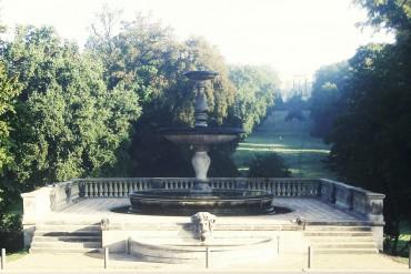 Viehtränke am Schloss Sanssouci