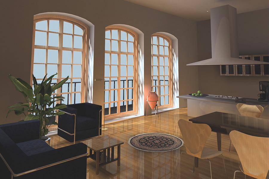 umnutzung eines schulgeb udes f r modernes wohnen potsdam babelsberg zierhut architekten. Black Bedroom Furniture Sets. Home Design Ideas