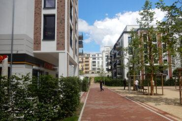 La Vie, Neubau einer Wohnanlage